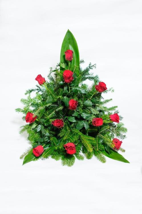 Vypichovaná kytice - růže, orientační cena - 1 500Kč