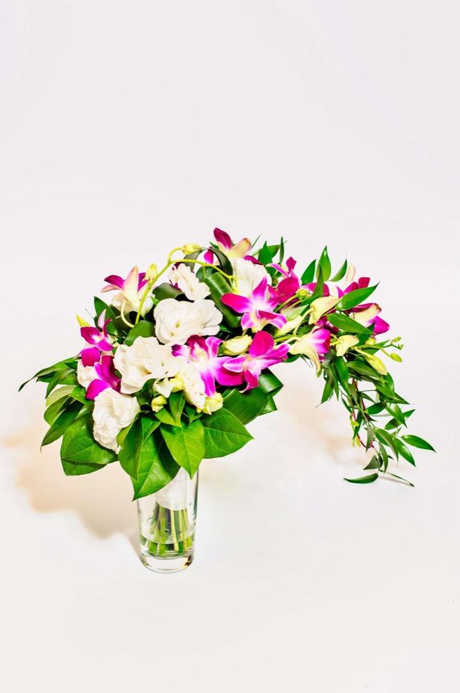 Svatební kytice - dendrobium
