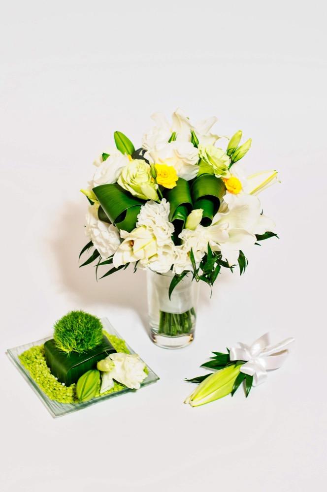 Svatební kytice - lilie