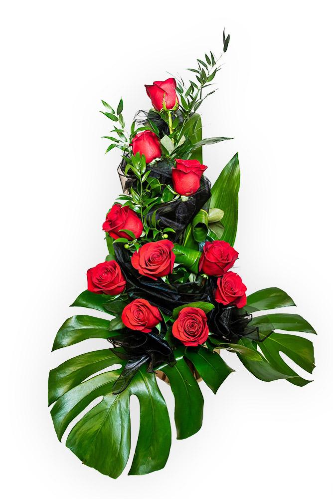 Smuteční kytice - Růže L