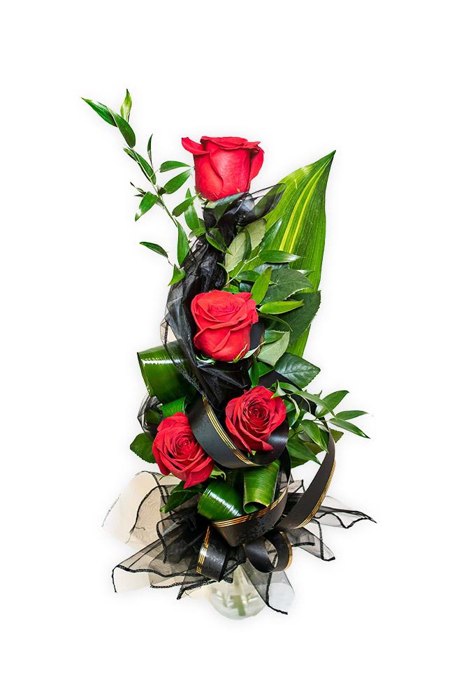 Smuteční kytice - Růže S