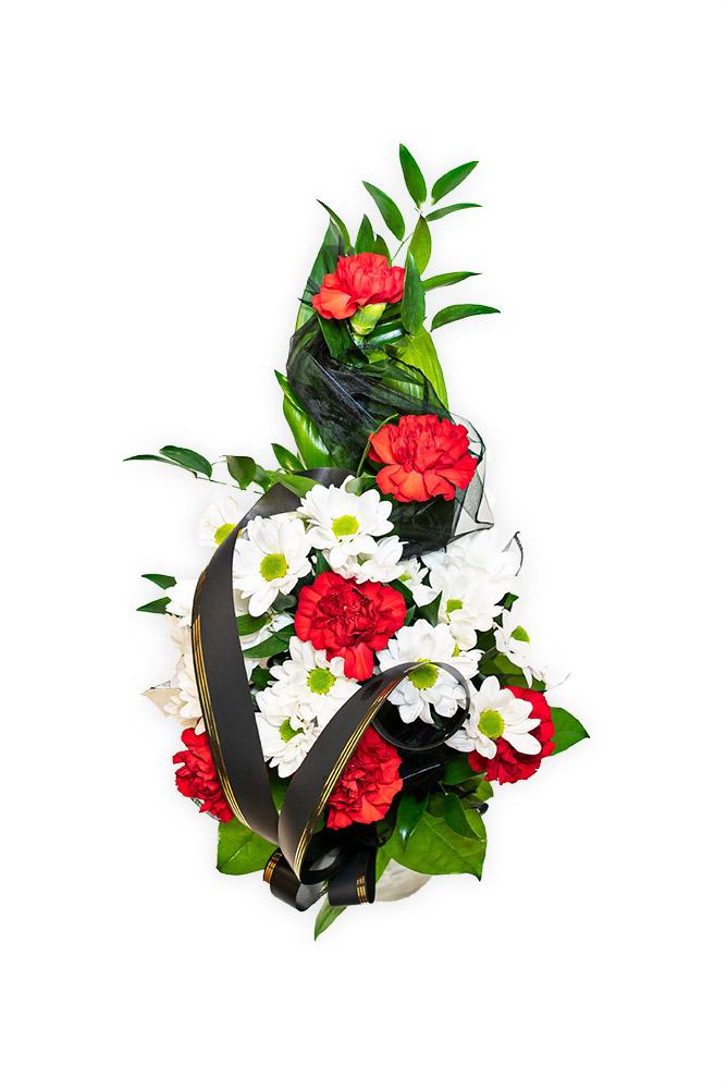 Smuteční kytice - Karafiáty S