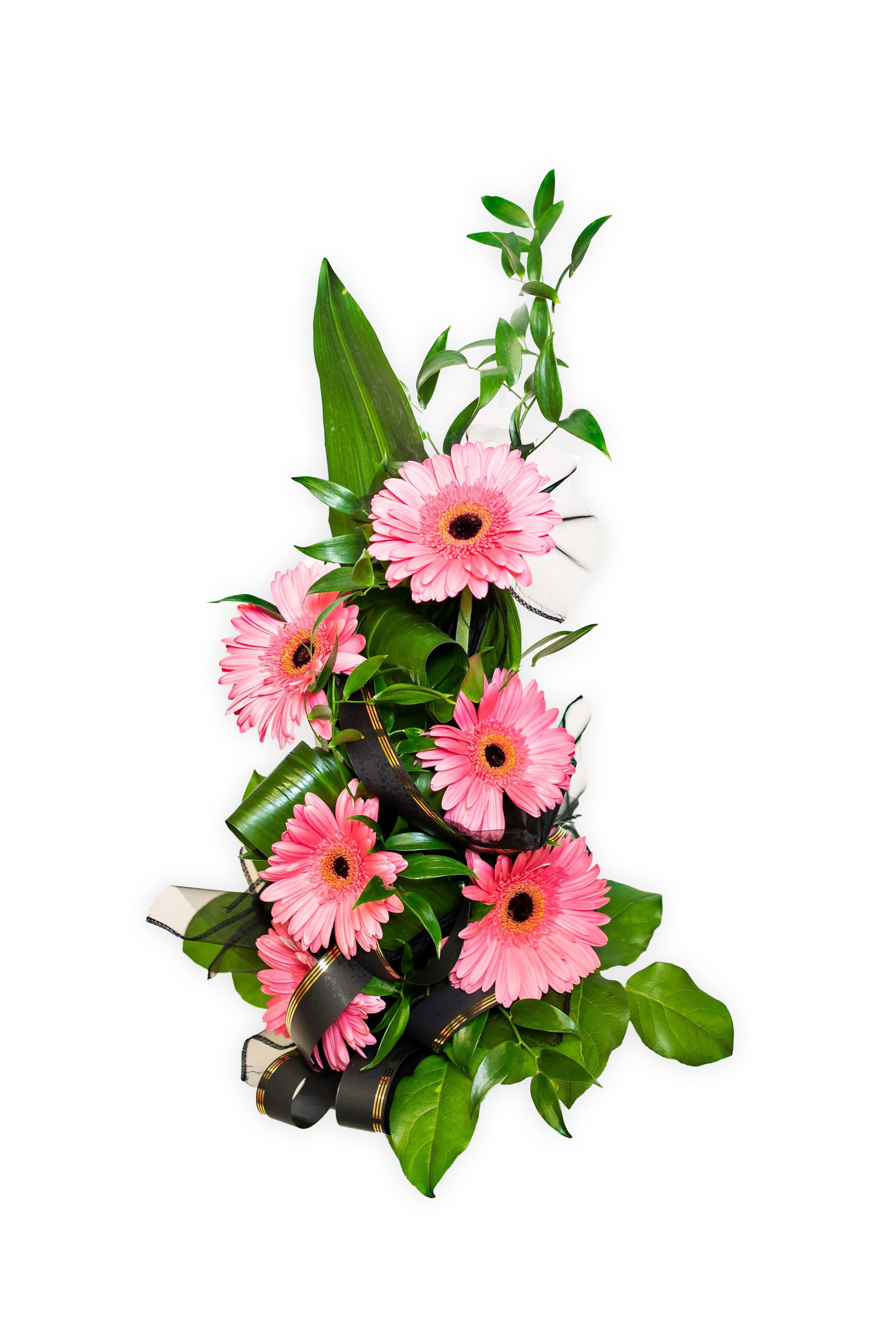 Smuteční kytice - Gerbery S