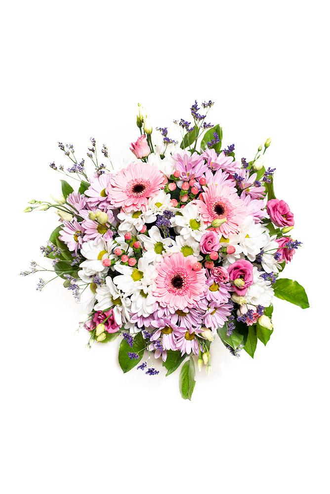 Něžný mix květů