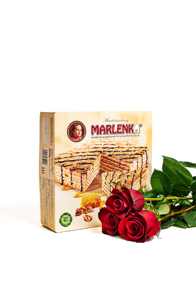 3 RŮŽE a Marlenka dort