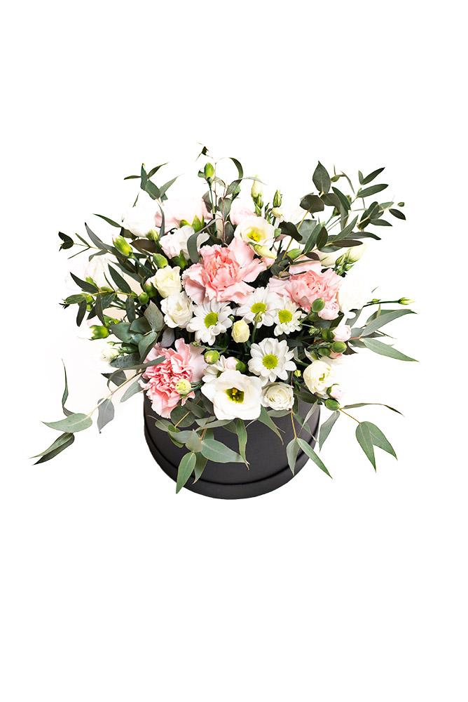 Box plný čerstvých květin M