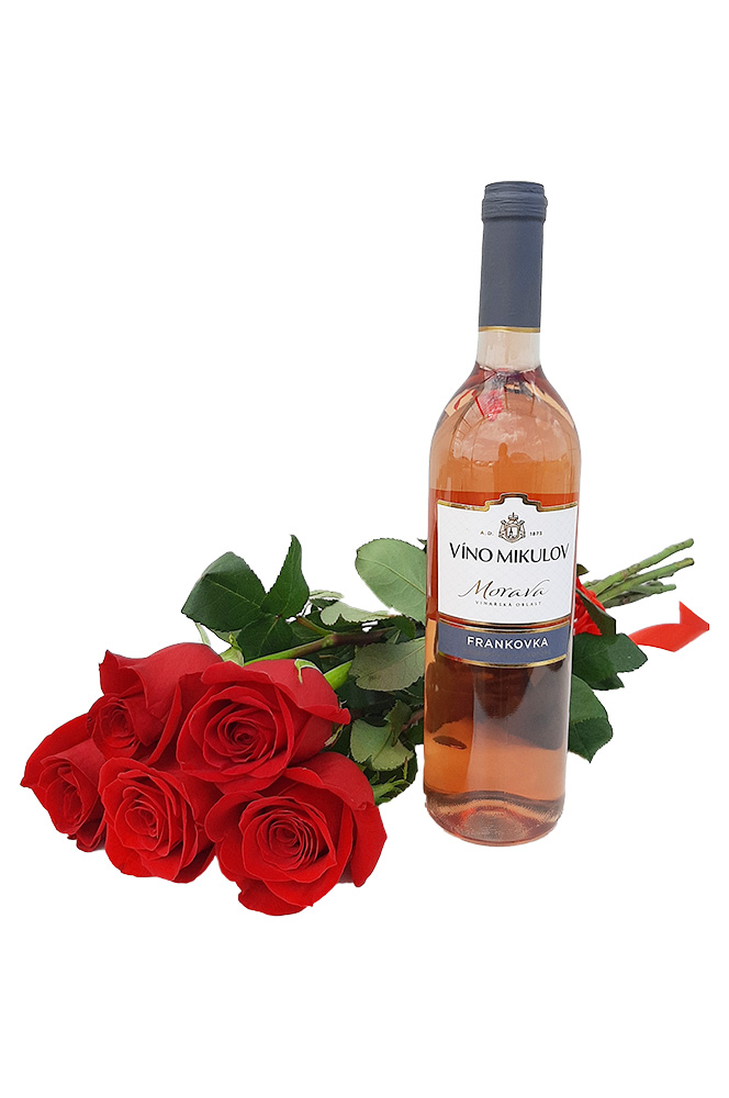 5 RŮŽÍ a růžové víno