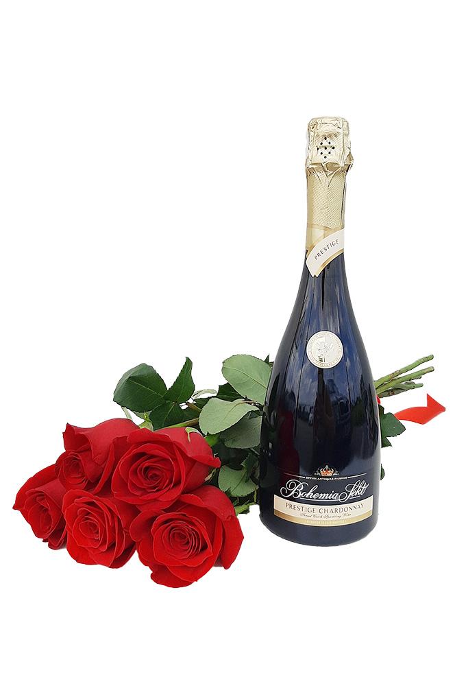5 RŮŽÍ a Prestige Chardonnay