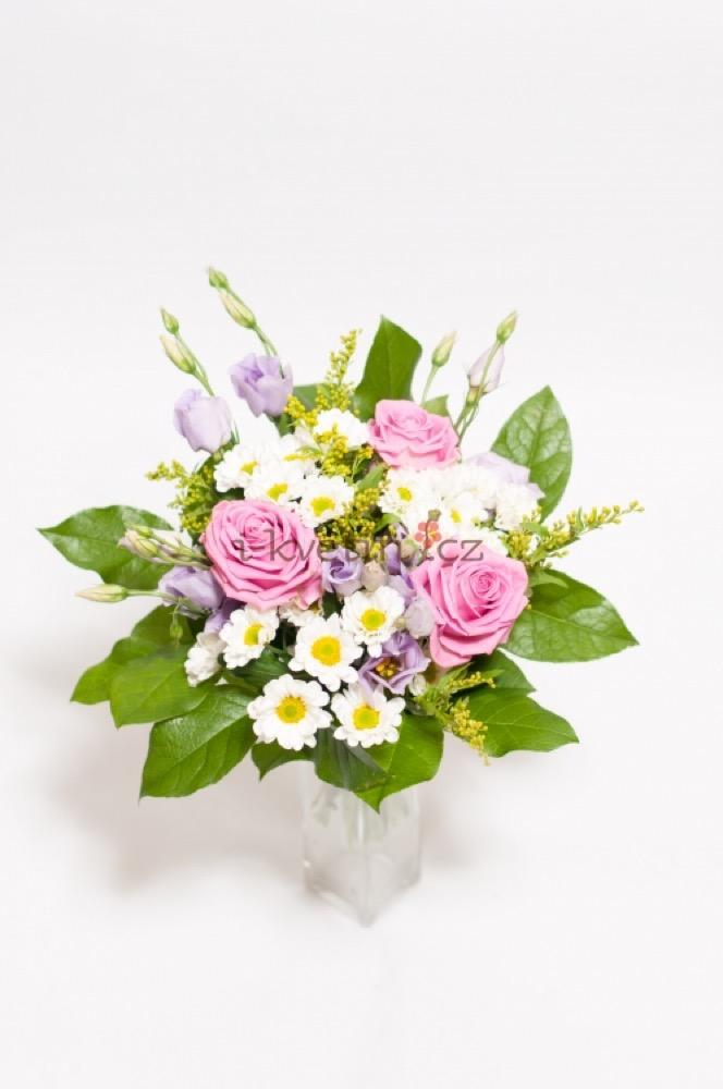 Kopretiny, eustomy a růže