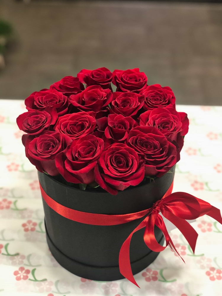 Box růží a Prestige Chardonnay